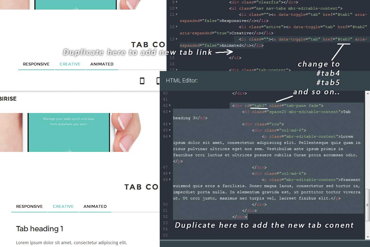 Premium Bootstrap Responsive Theme Template