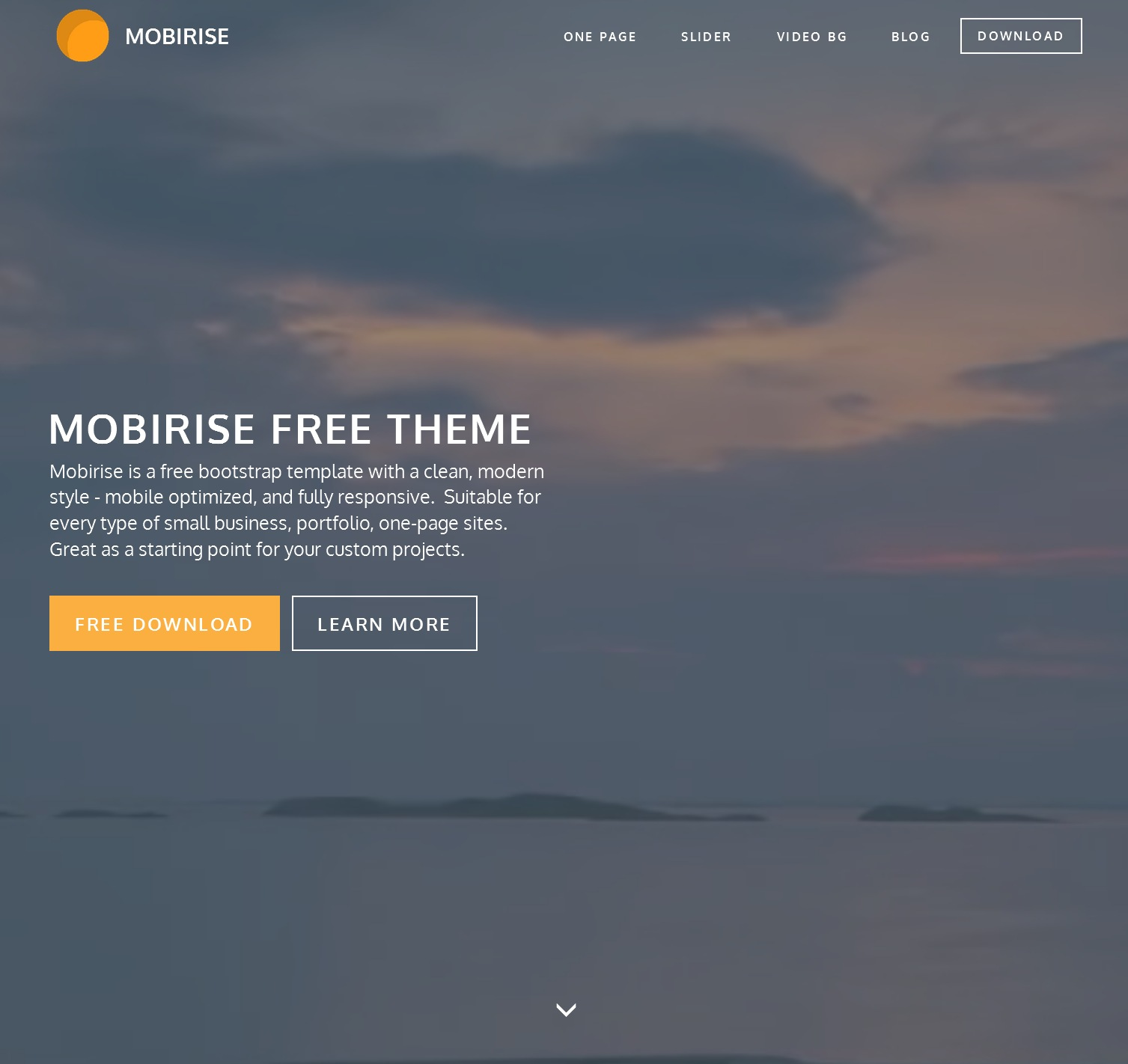 Free Bootstrap Business Theme