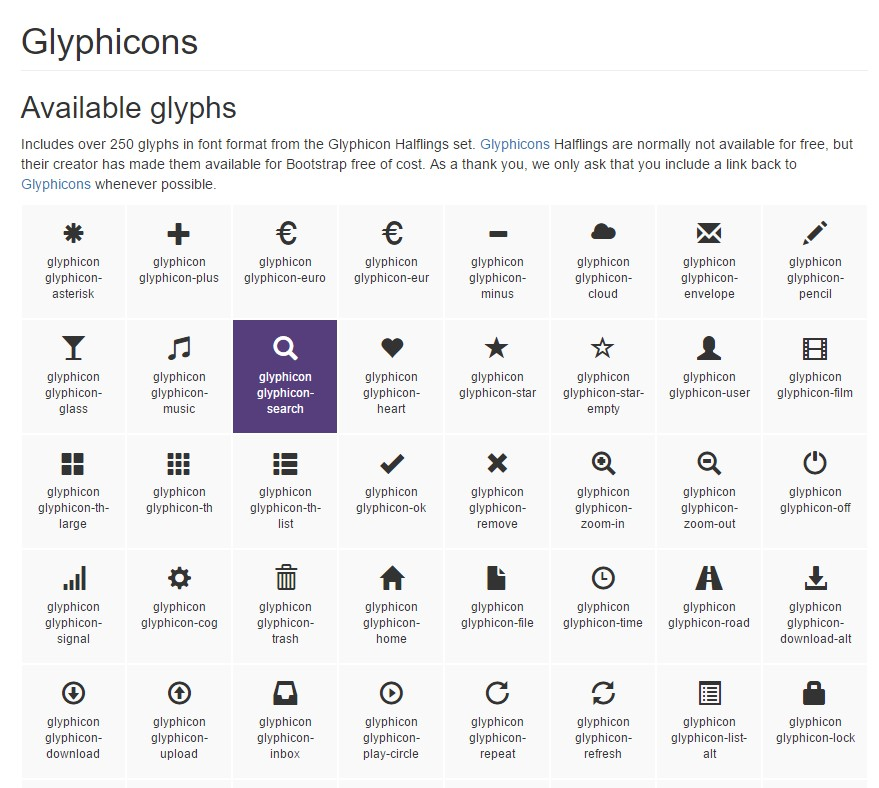 Bootstrap Icons  formal  information