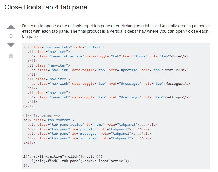 Ways to  turn off Bootstrap 4 tab pane