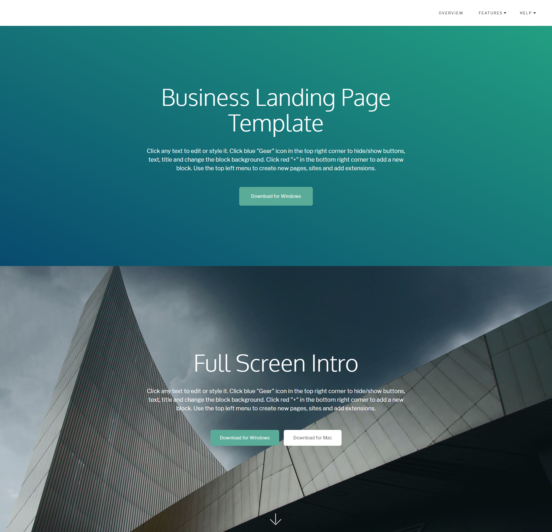 Free Download Bootstrap DirectM Templates