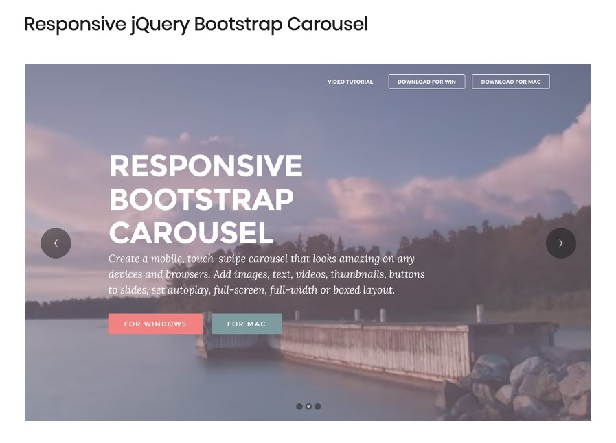 Jquery Carousel Slider Example