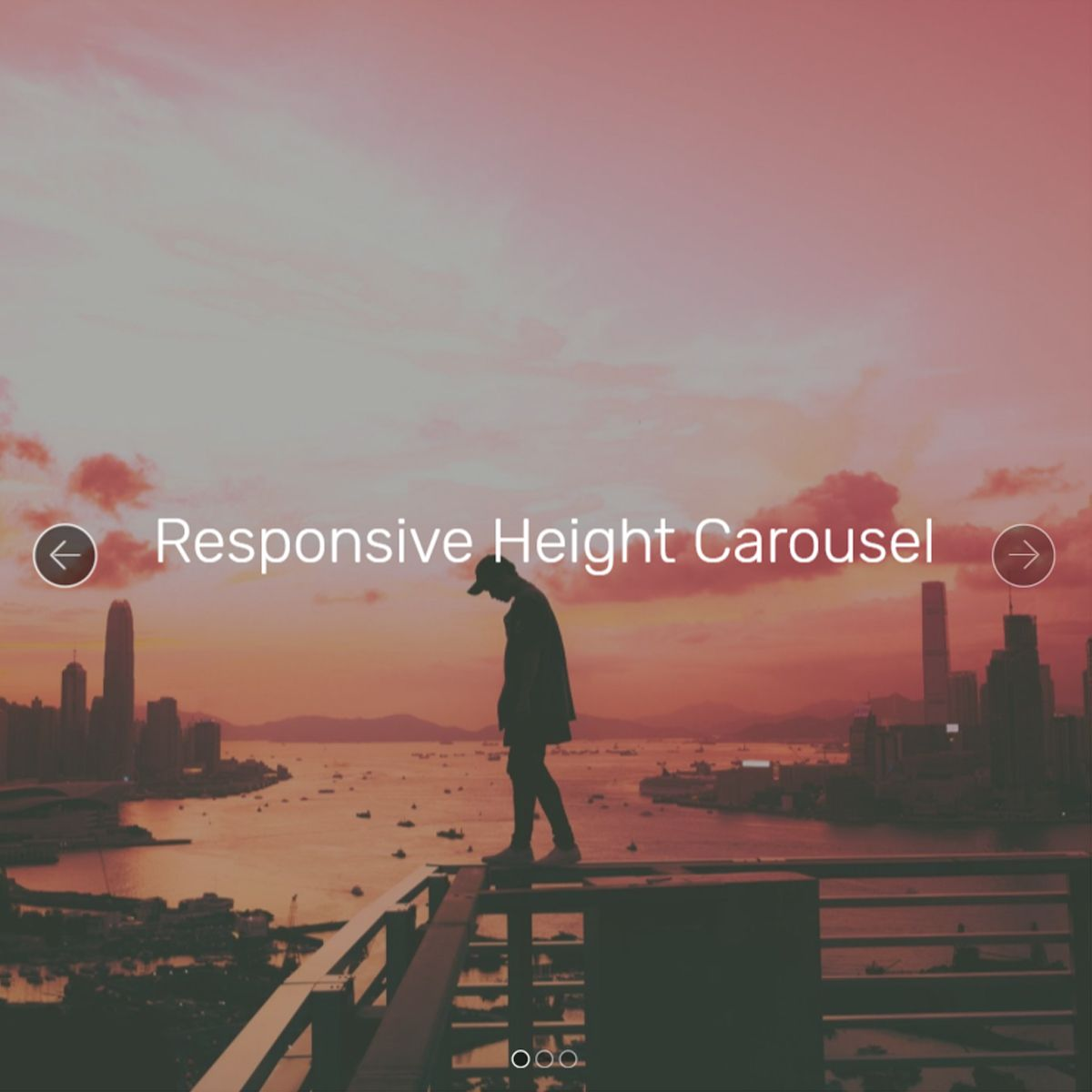 Mobile Bootstrap Picture Carousel
