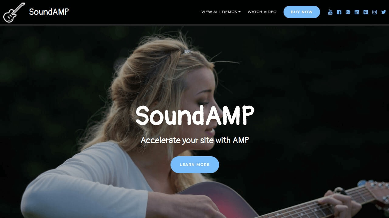 AMP CSS Template