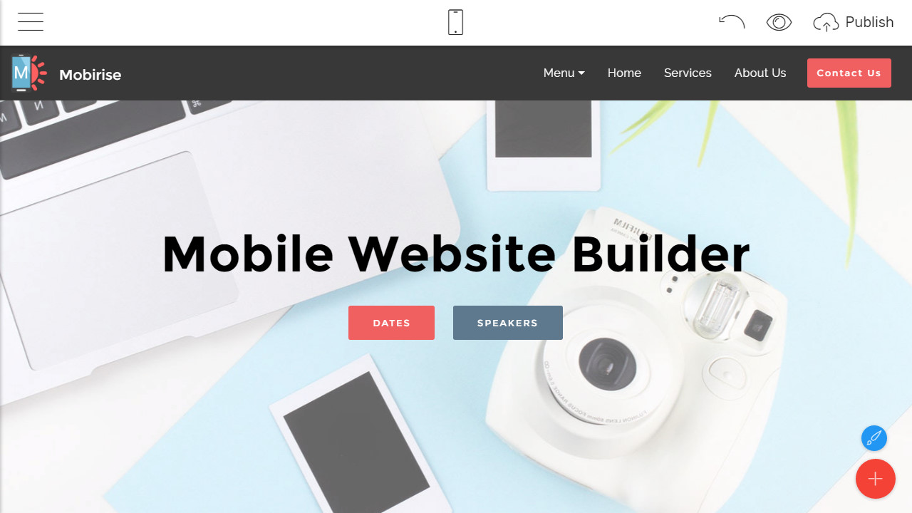 Mobirise Free Site Maker