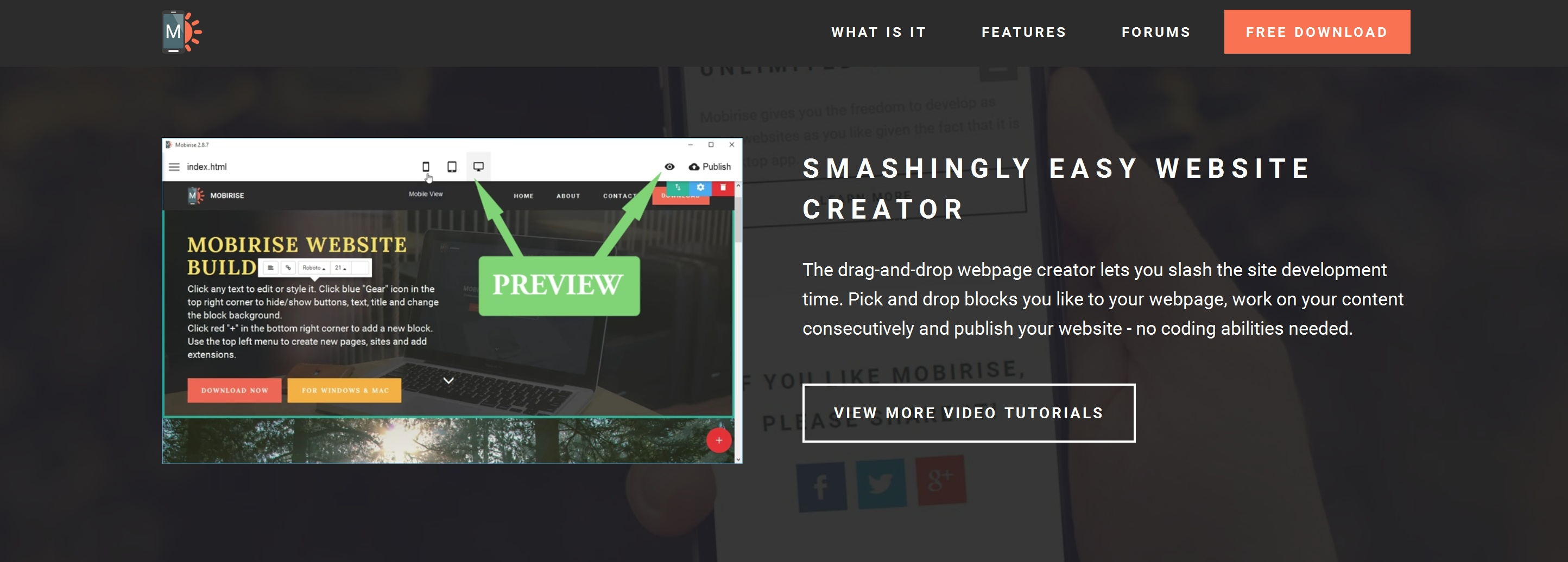 HTML5 Web Page  Builder Review