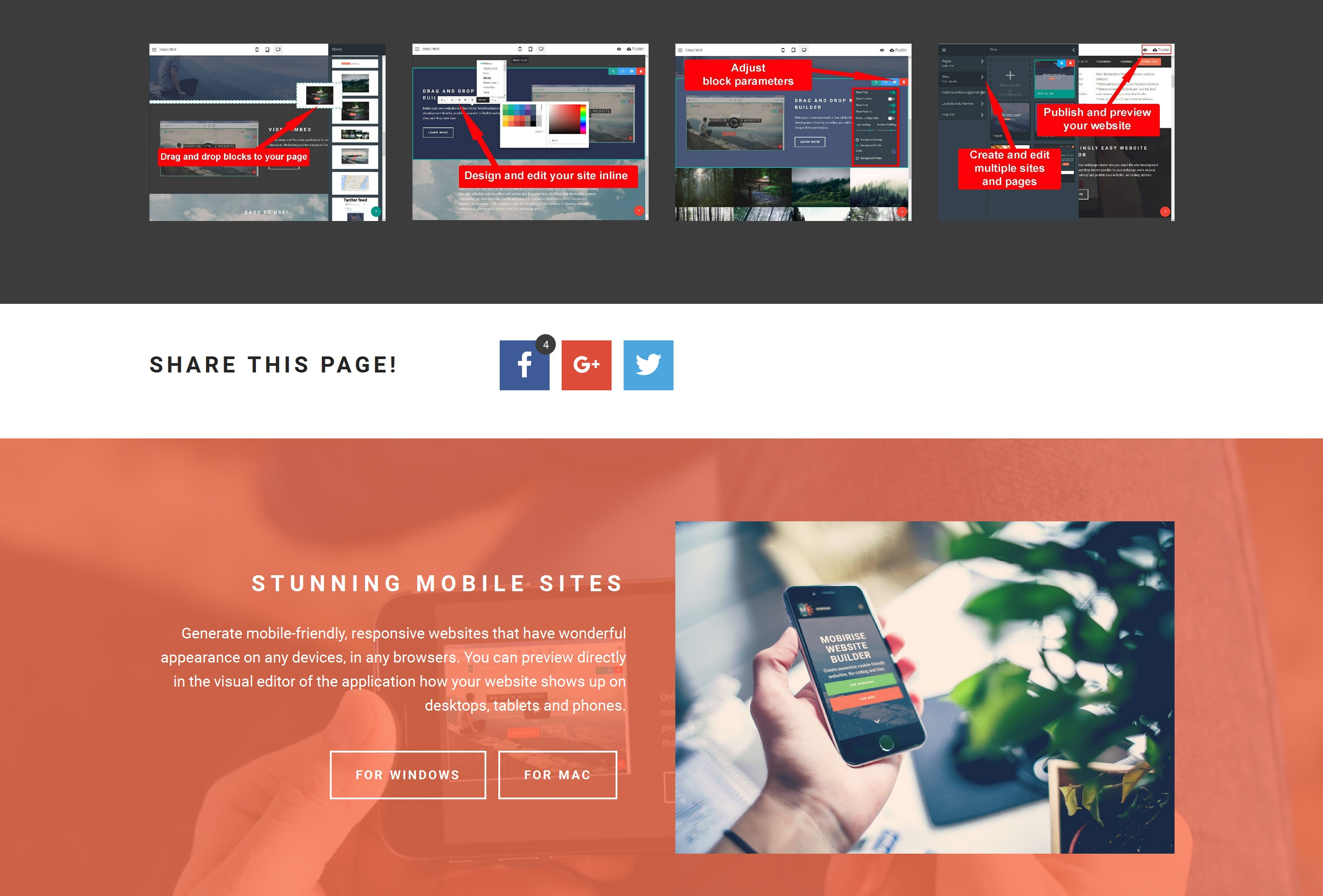 Free Responsive Web Page  Builder Review