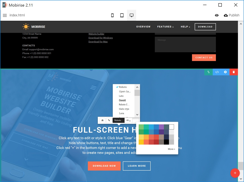 Best Offline Web Page  Builder Review