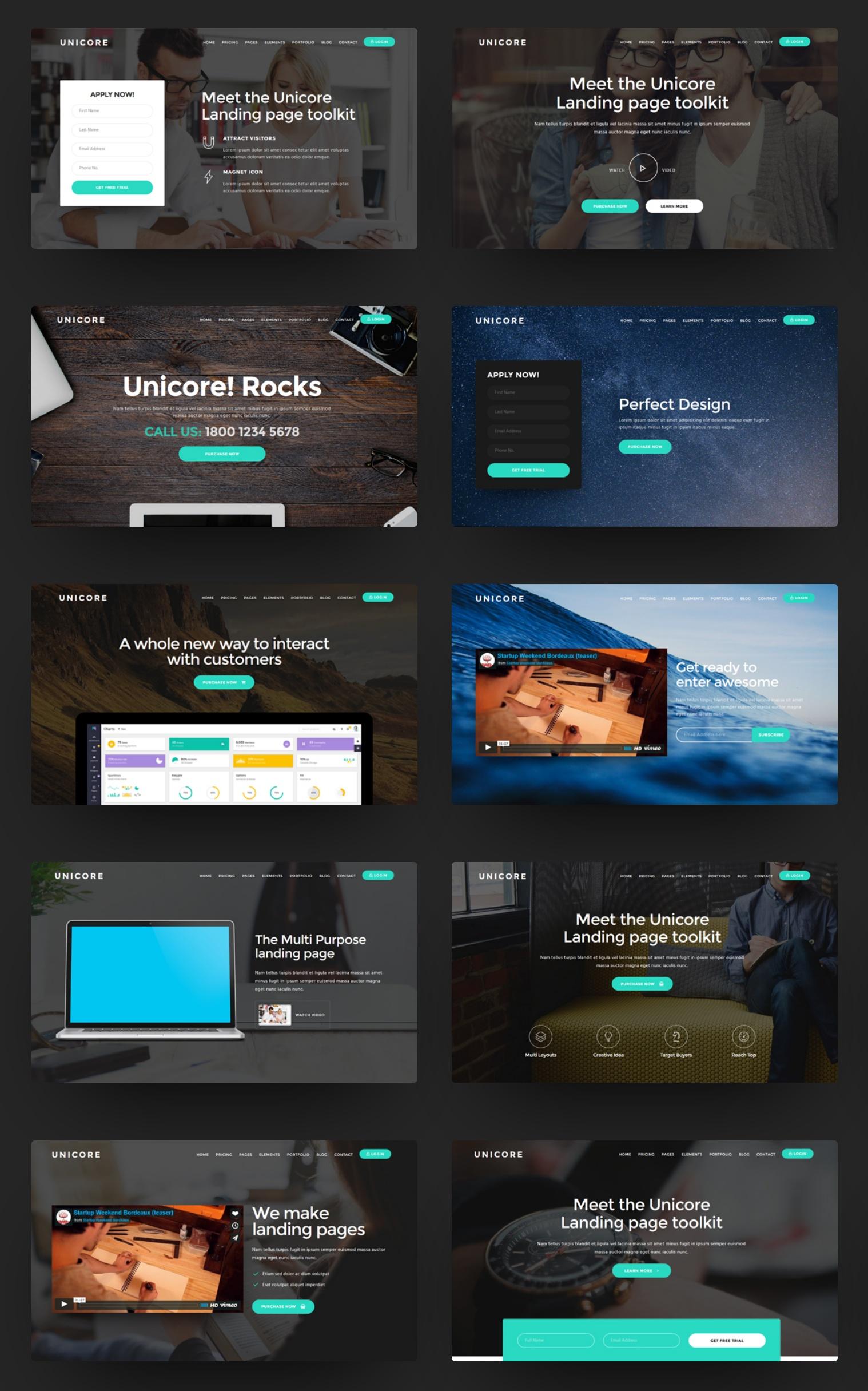 Premium Bootstrap Navbar Theme