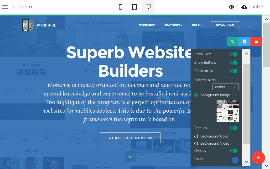 Free Site Editor