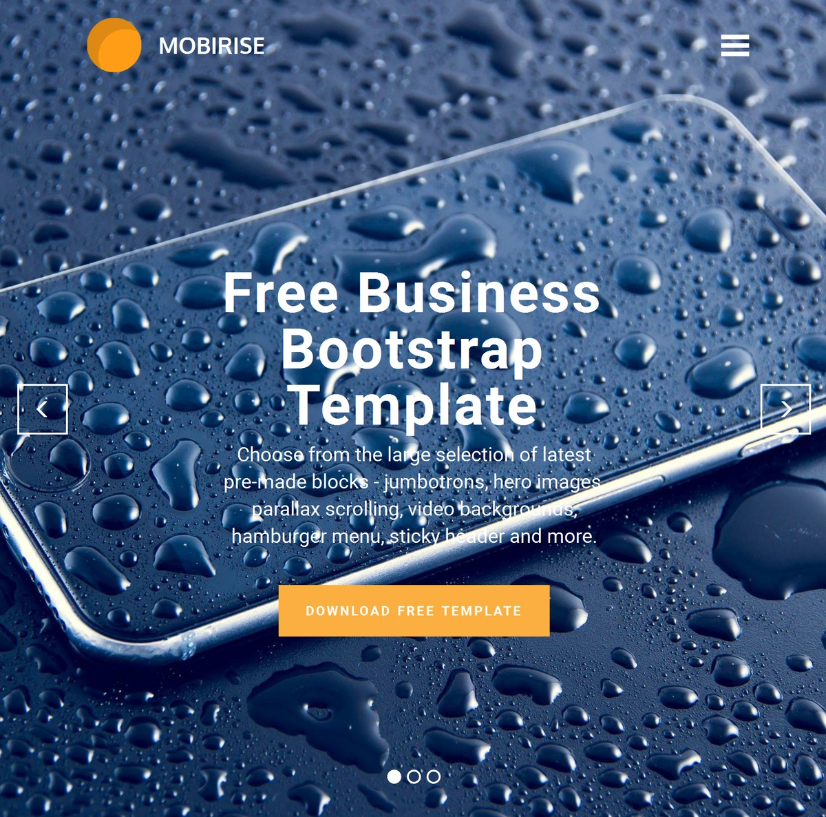 Bootstrap Responsive  Templates Themes Extensions