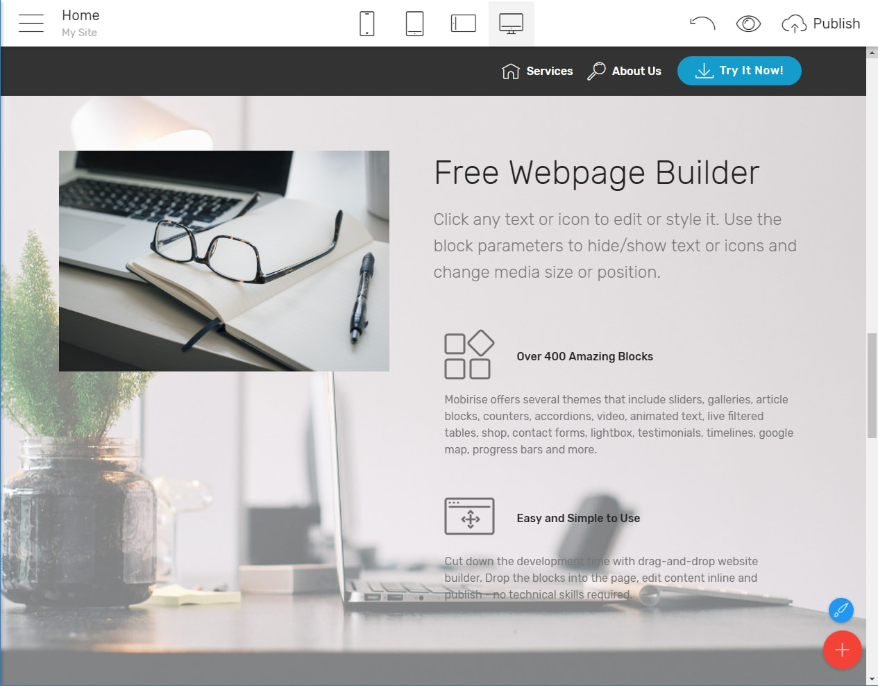 Web Page Builder
