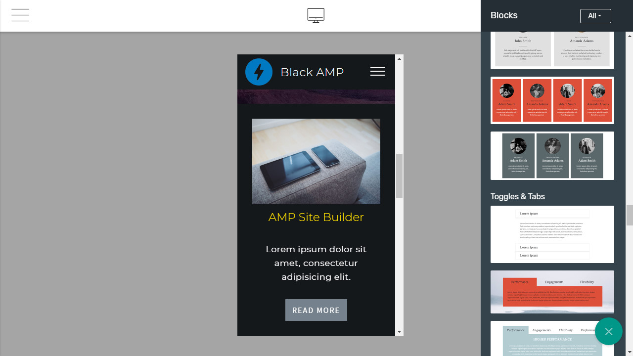 Mobile Page Maker