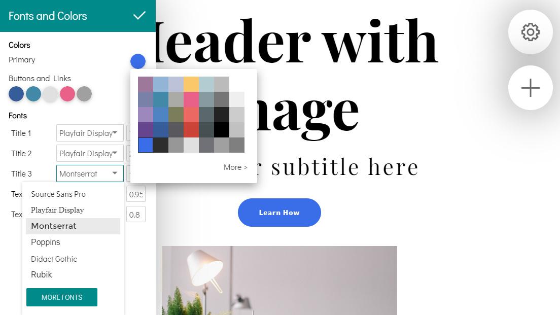 Drag and Drop Web Design Maker